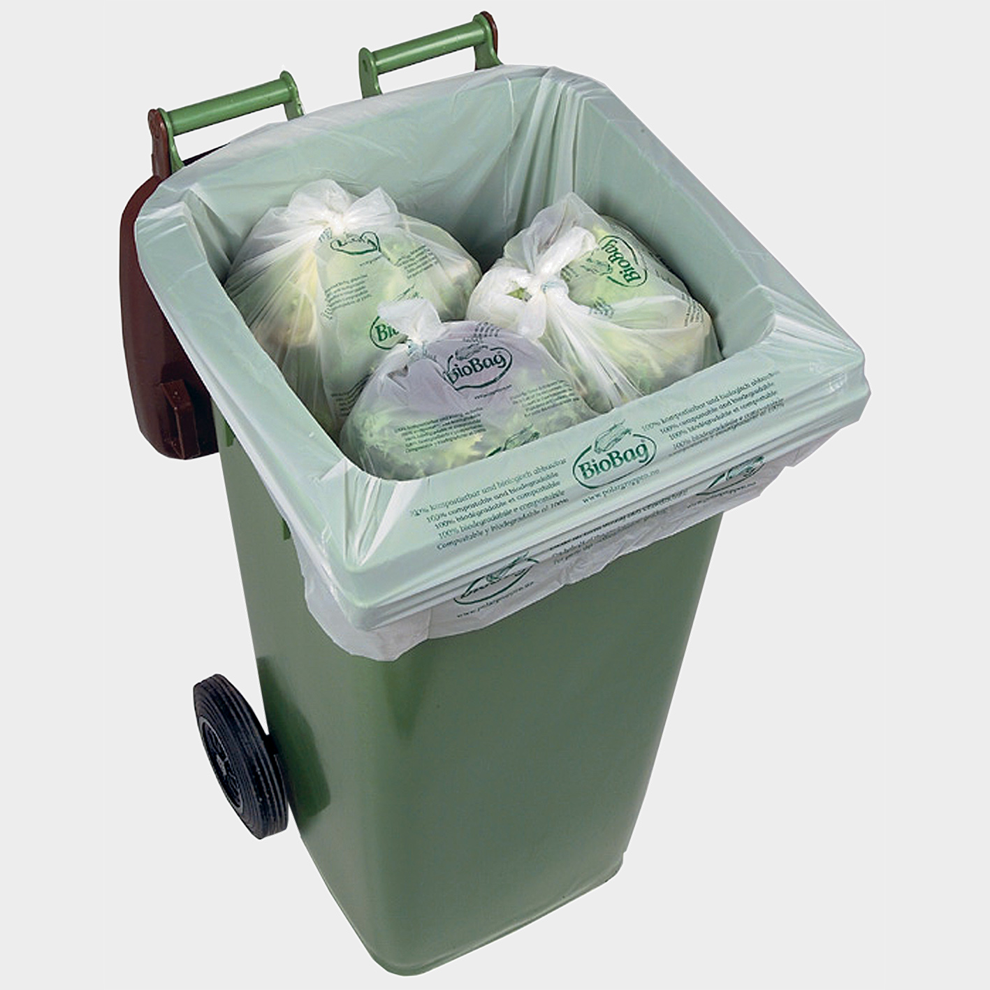 degradable recyclable compostable bin