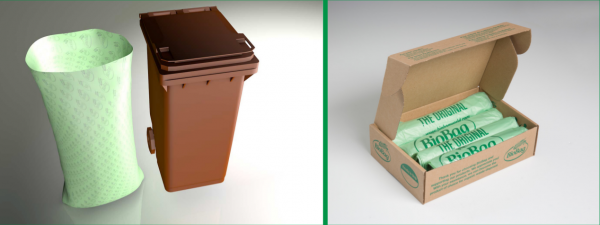 140 litre Compostable wheelie Bin Bags