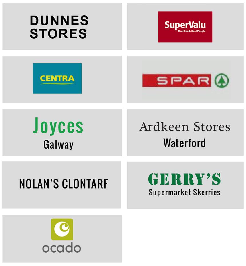 Stockists Logos