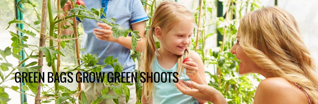 Green Bags Grow Green Shoots