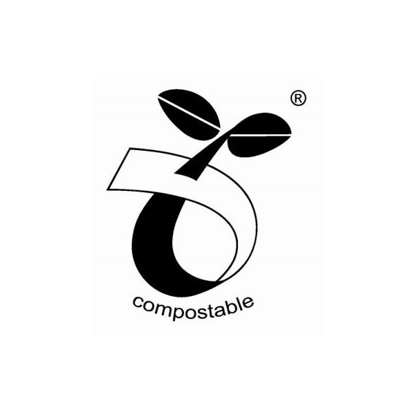 European Standard logo for Compostable bags