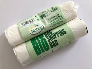 Biodegradable & Compostable BioBag Shopper Roll