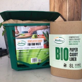 BioBag Paper Compost Caddy Liners