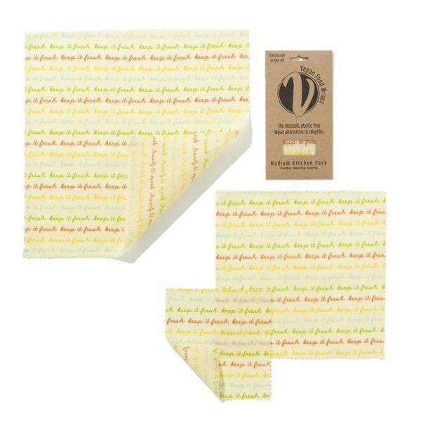 Biodegradable Vegan Food Wrap medium
