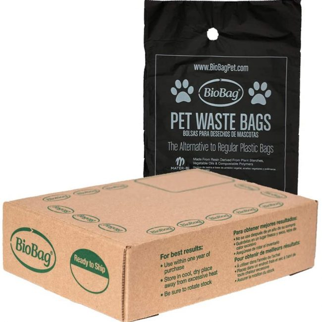 BioBga Dog Waste bag for Amazon Packaging